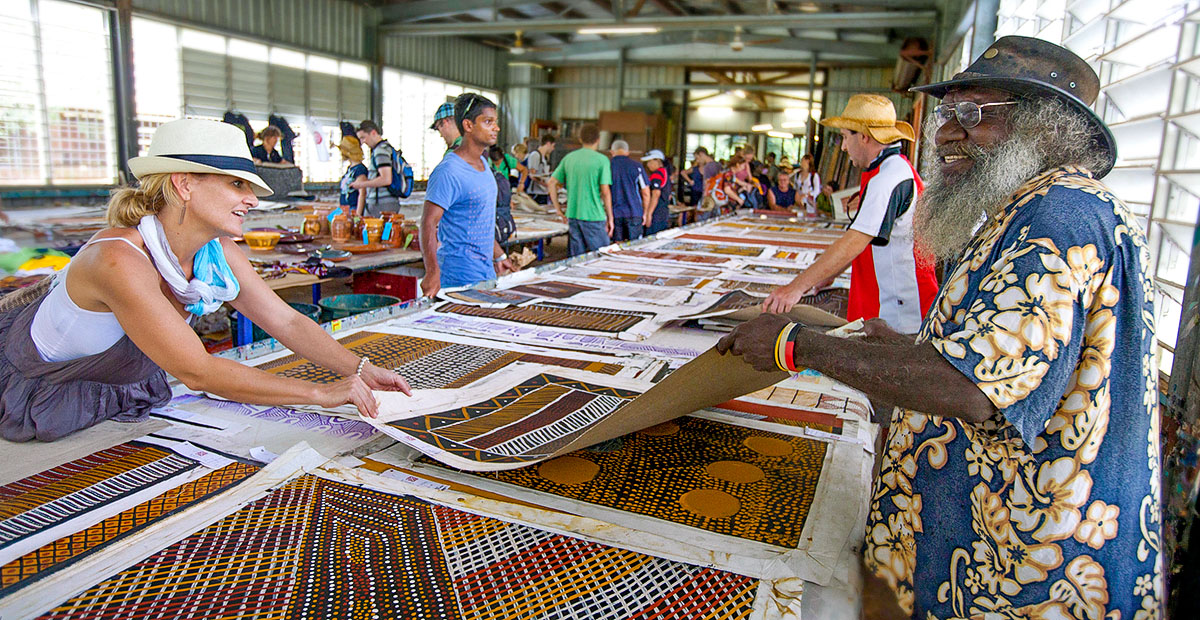 Tiwi Island Grand Final and Art sale