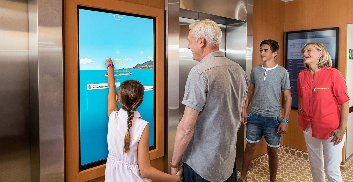 Family Viewing OCEAN Enabled Touch Screen Portals
