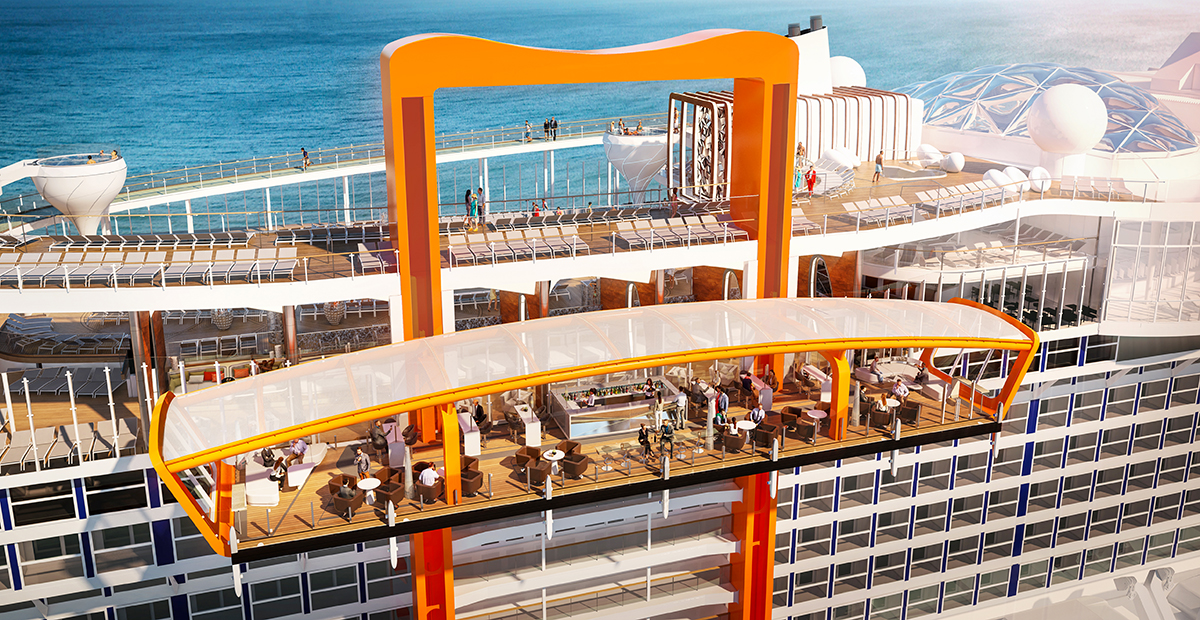 Celebrity Edge, Renderings, Edge Class,