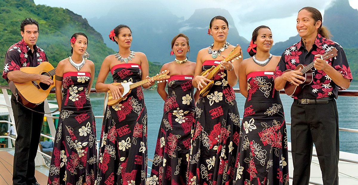 Every day brings delightful and unexpected encounters with the Polynesian culture when you're traveling with your own group of Gauguines.