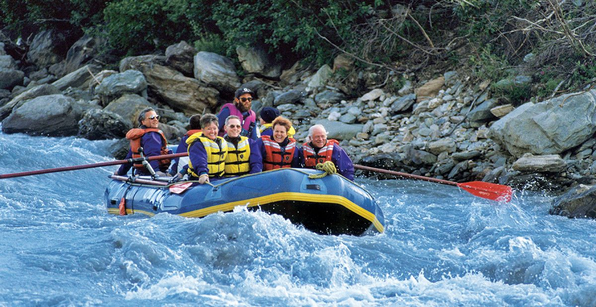 Rafting, Nenana River, Denali National Park, Alaska